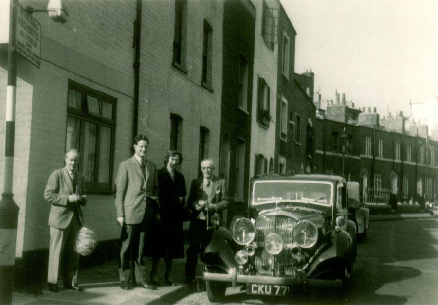 B184LS, Rutland Street 1958