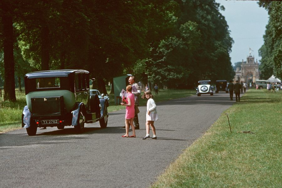 1960 - Blenheim Palace Entrance