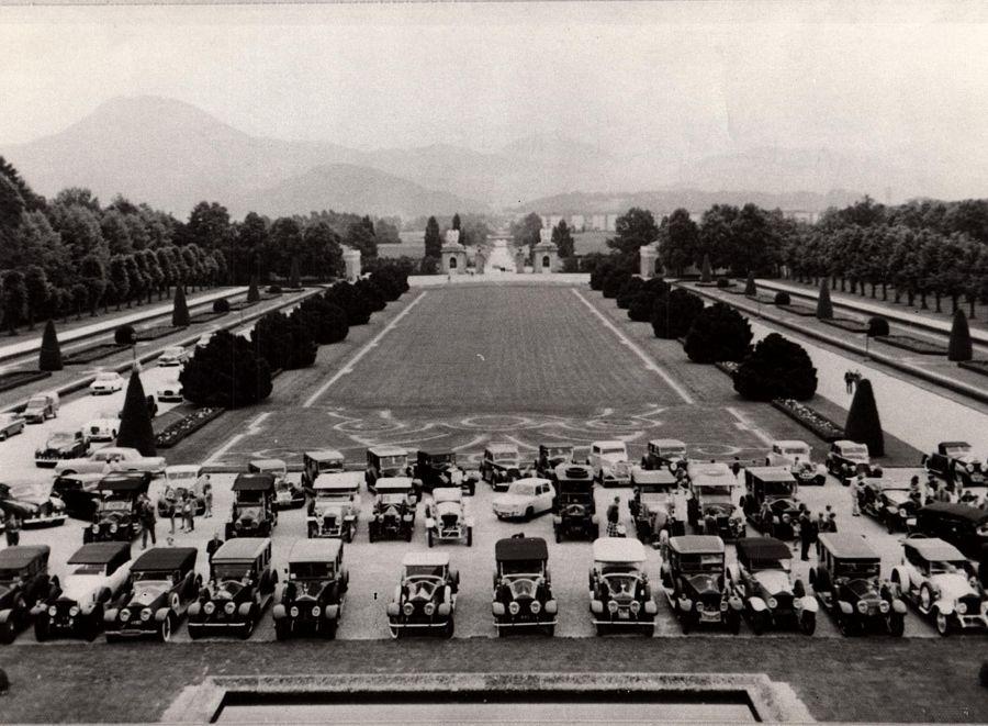 1973 - Great Alpine Rally final luncheon in Salzburg
