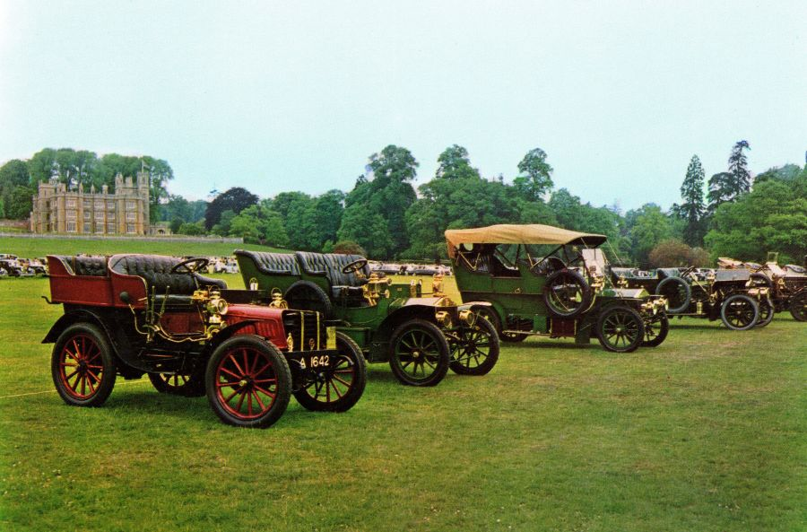 1984 - Club celebrates 70 years of Rolls-Royce at Englefield Park