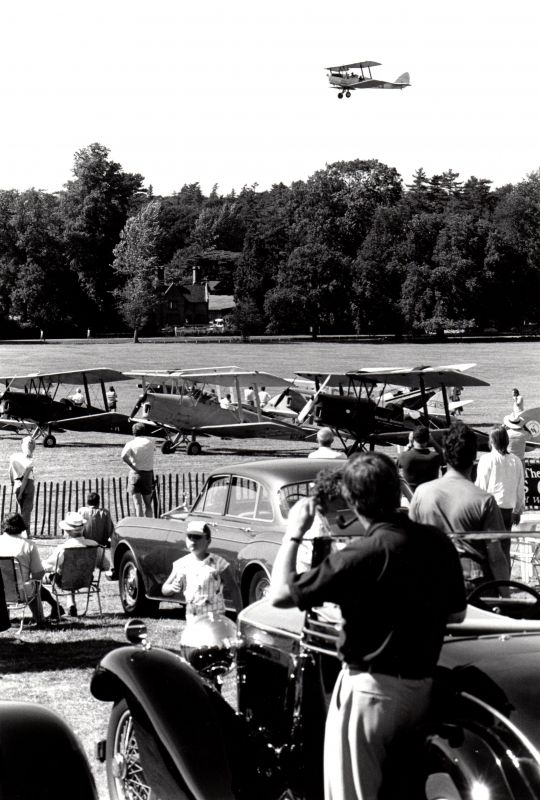 1989 - Woburn Tiger Moth fly over