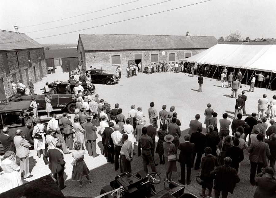 1980 - Opening of The Hunt House