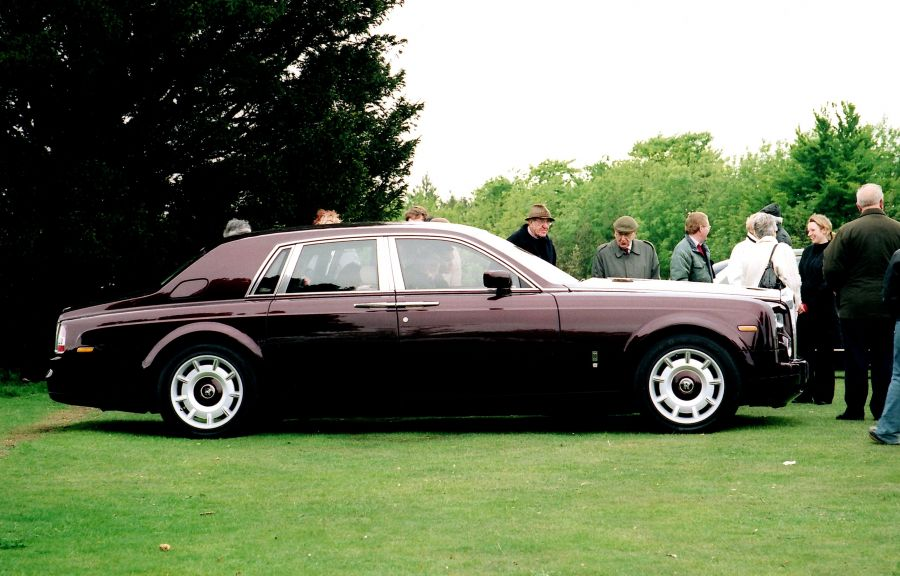 2003 - New Goodwood Phantom under inspection