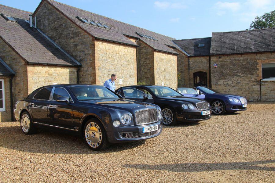 2012 - Bentley Driving Day