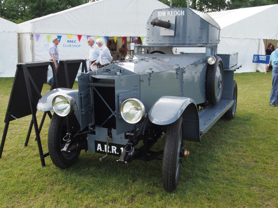 2014 - Armoured Car at the Annual Rally