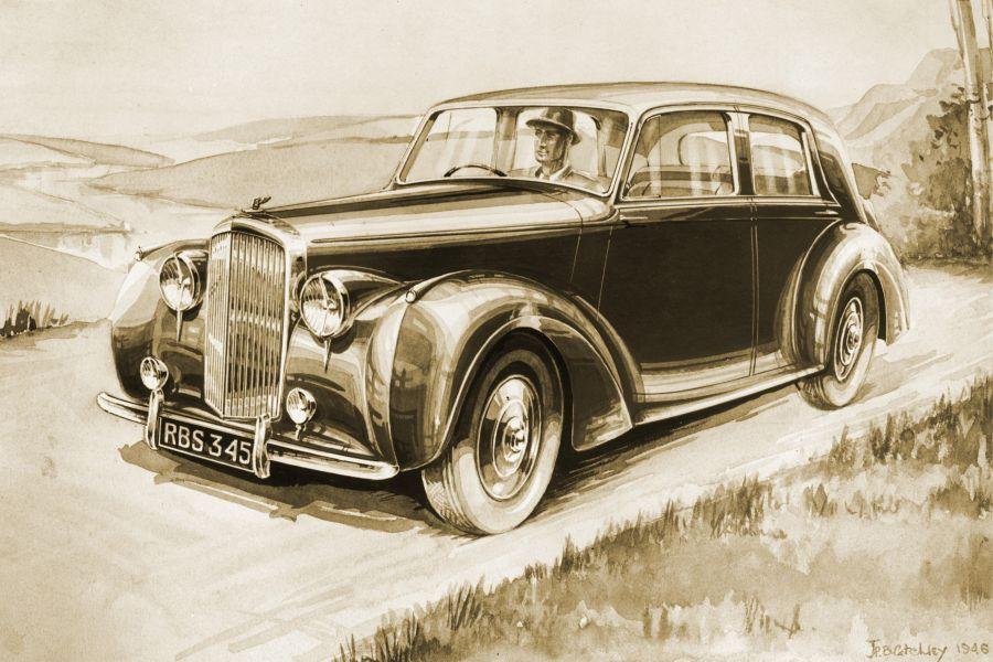 70 years of Bentley Design 1