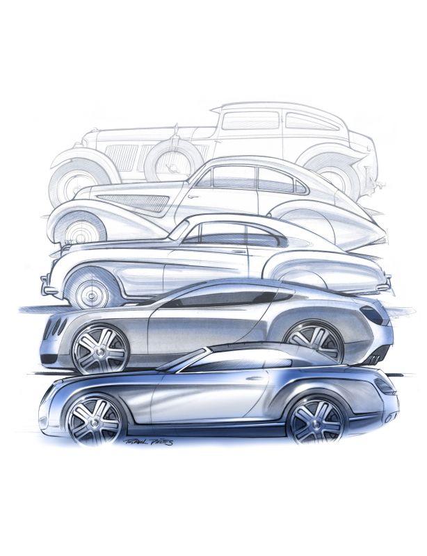 70 years of Bentley Design 6