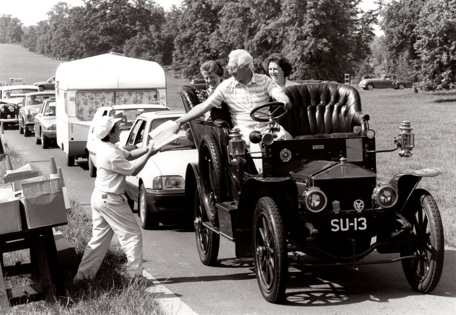 1989 - Annual Rally at Castle Ashby