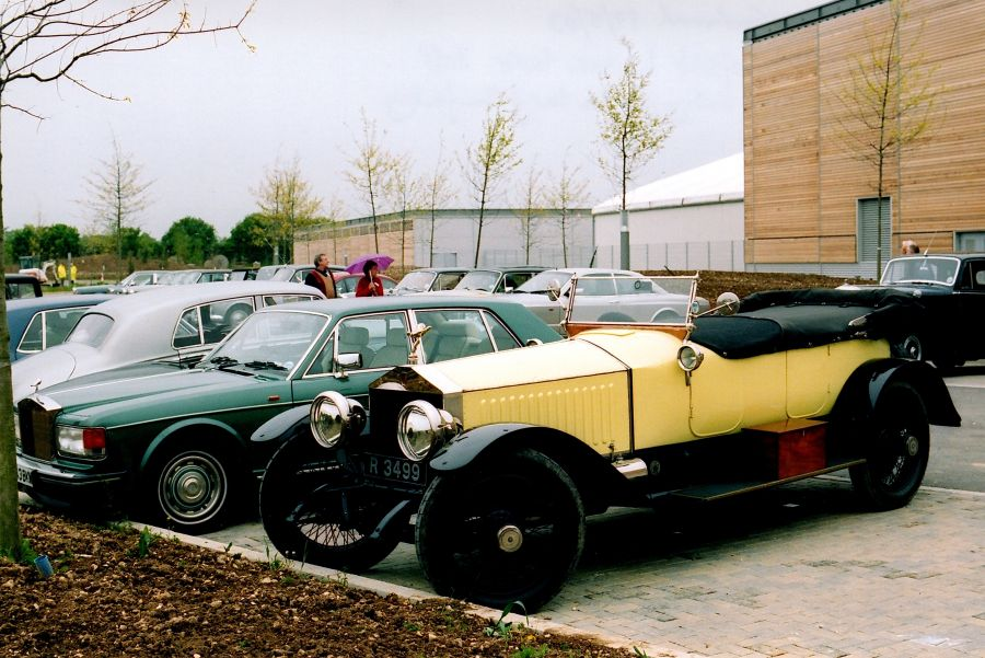 2003 - Visit to the new Rolls-Royce Motor Cars factory at Goodwood