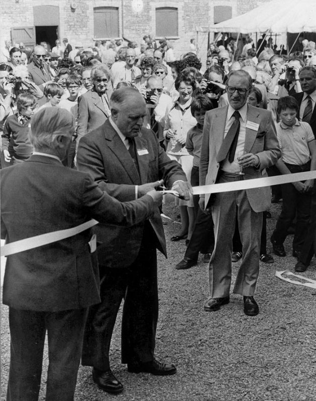 1978 - The Hunt House Opening Ceremony