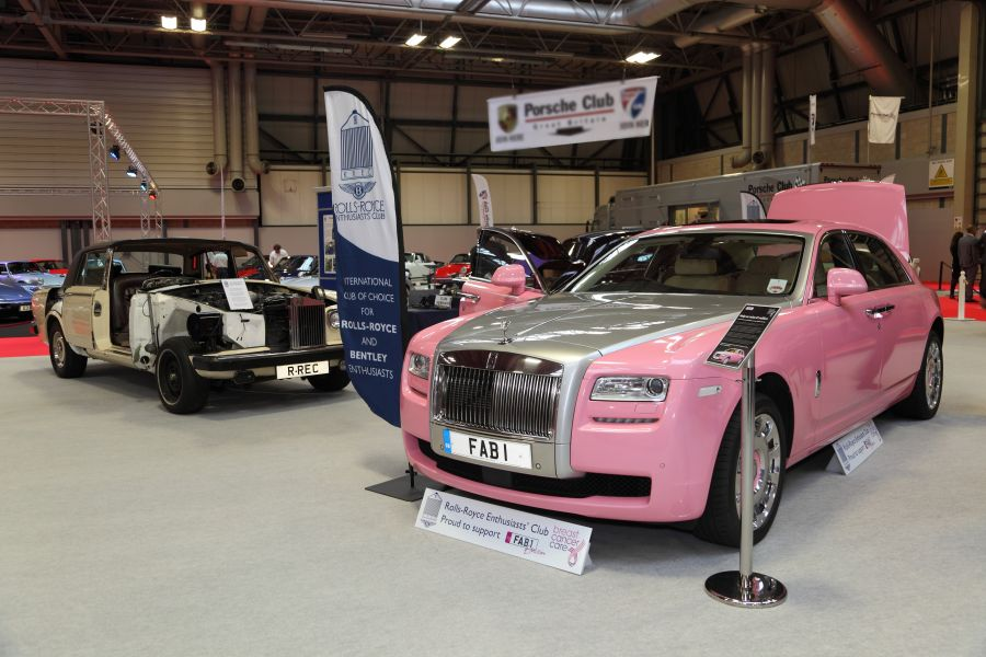 2012 - FAB1 on the RREC stand at the NEC Classic Motor Show