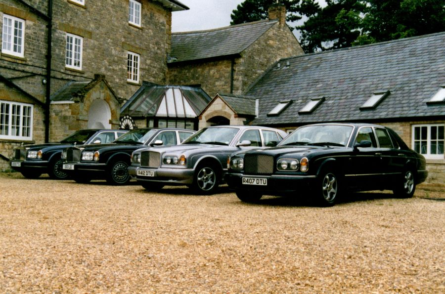 2004 - Bentley Driving Day at The Hunt House